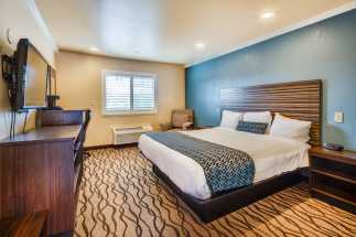 Americas Best Value Inn Richmond - King Size Bedroom at ABVI Richmond